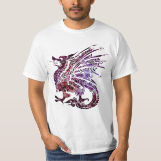 Red and Purple Dragon T-shirt