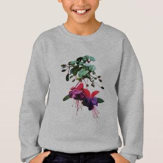 Red and Purple Fuschia Kids Sweatshirt