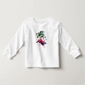 Red and Purple Fuschia Kids Toddler T-shirt