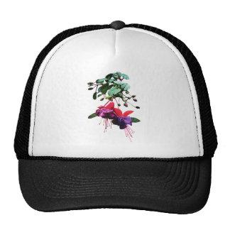 Red and Purple Fuschia Trucker Hat