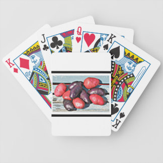 red and purple Potatoes Bicycle Playing Cards
