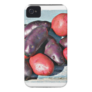 red and purple Potatoes iPhone 4 Case-Mate Case