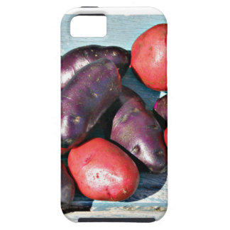 red and purple Potatoes iPhone SE/5/5s Case