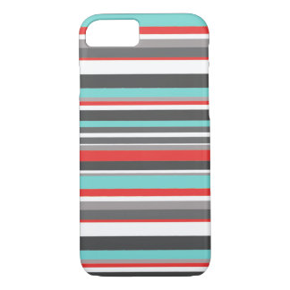 Red and Terquoise iPhone 7 Case