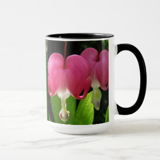 Red and White Bleeding Hearts Mug