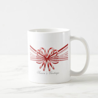 Red and White Candy Cane Bouquet Classic White Coffee Mug