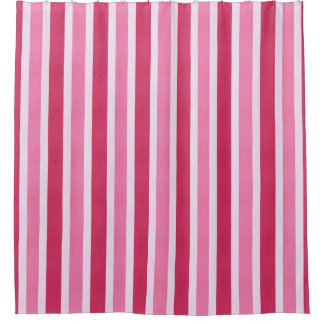 Red and White Candy Stripe Shower CurtainCandy Stripe Shower Curtains   Zazzle. Pink And White Striped Shower Curtain. Home Design Ideas