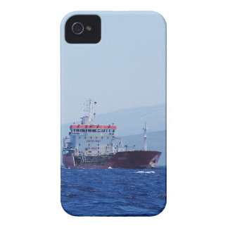 Red And White Cargo Ship Case-Mate iPhone 4 Case
