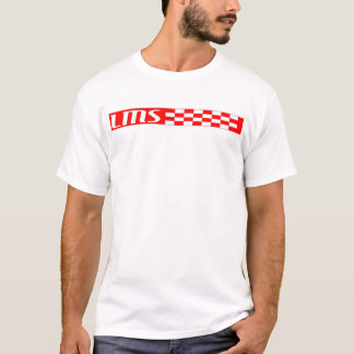red and white checkerd lms T-Shirt
