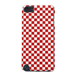 Red and White Checkered iPod Touch 5g Case