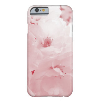 Red and white cherry blossom sakura flowers barely there iPhone 6 case