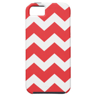 Red and White Chevron iPhone 5 Cover