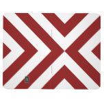 Red and White Chevrons Journals