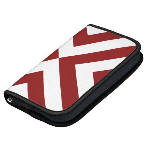Red and White Chevrons Organizers