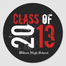 Red and White Class of 2013 Graduation
