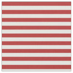 [ Thumbnail: Red and White Colored Lined Pattern Fabric ]