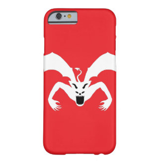 Red and White Devil Barely There iPhone 6 Case