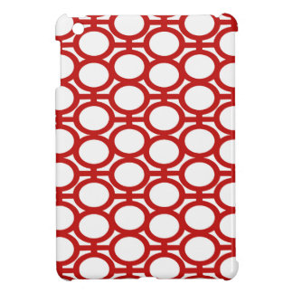 Red and White Eyelets Cover For The iPad Mini