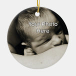 Red and White Foal Baby's First Christmas Christmas Tree Ornament