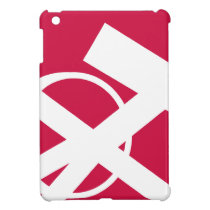 Red and White Freedom Portal right iPad Mini Cases