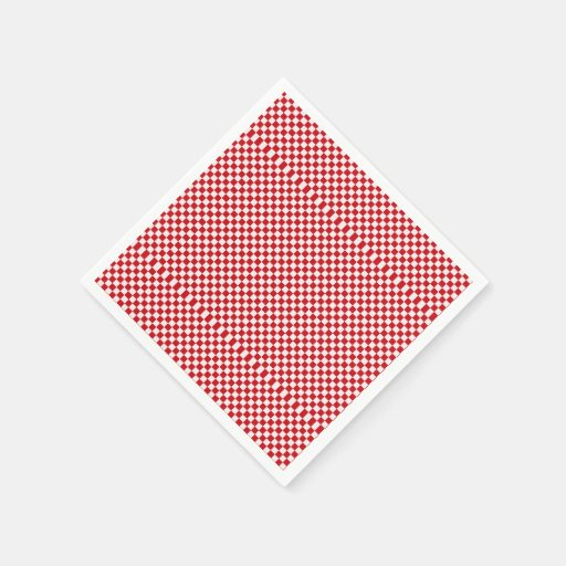 red and white paper checkered napkins Shop at efavormartcom for premium quality paper beverage napkins create a  fun table presentation with our red and white striped paper napkins.