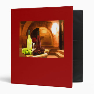 Red and White in the Cellar Binder