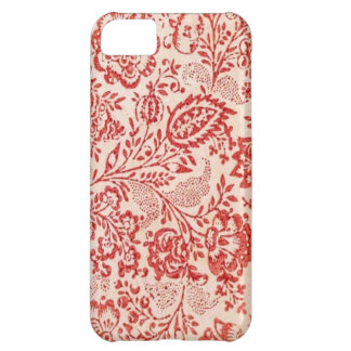 red and white Japanese chiyogami iPhone 5C Cover