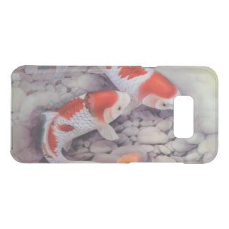 Red and White Koi Fish Pond Uncommon Samsung Galaxy S8+ Case
