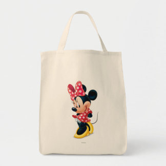 Red and White Minnie 4 Tote Bag