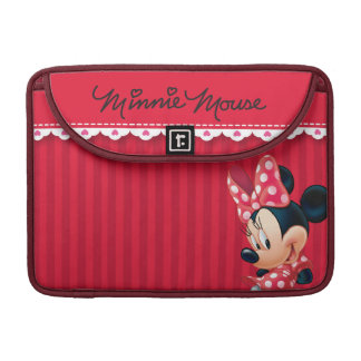 Red and White Minnie 4 MacBook Pro Sleeves