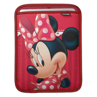 Red and White Minnie 4 Sleeve For iPads