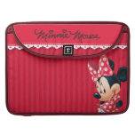Red and White Minnie 4 Sleeve For MacBooks