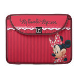 Red and White Minnie 4 Sleeves For MacBooks