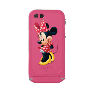 Red and White Minnie Shy Incipio ATLAS ID™ iPhone 5 Case