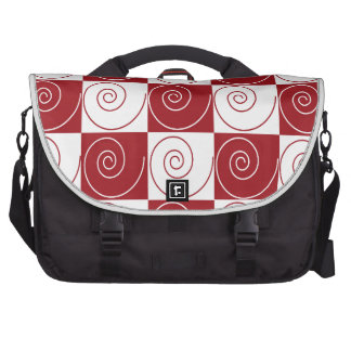 Red and White Mouse Tails Bags For Laptop