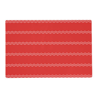Red and White Placemats