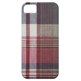 Red And white Plaid iPhone SE/5/5s Case