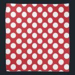 """Red and White Polka Dot Bandana<br><div class=""""desc"""">This cute bandana is the perfect accessory for you,  your child or your favorite dog.</div>"""