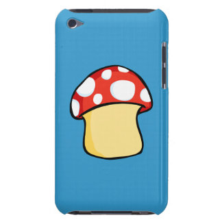 Red and White Polka Dot Mushroom Case-Mate iPod Touch Case