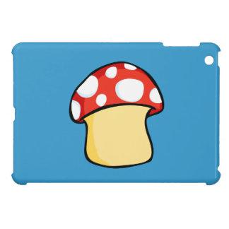 Red and White Polka Dot Mushroom iPad Mini Covers