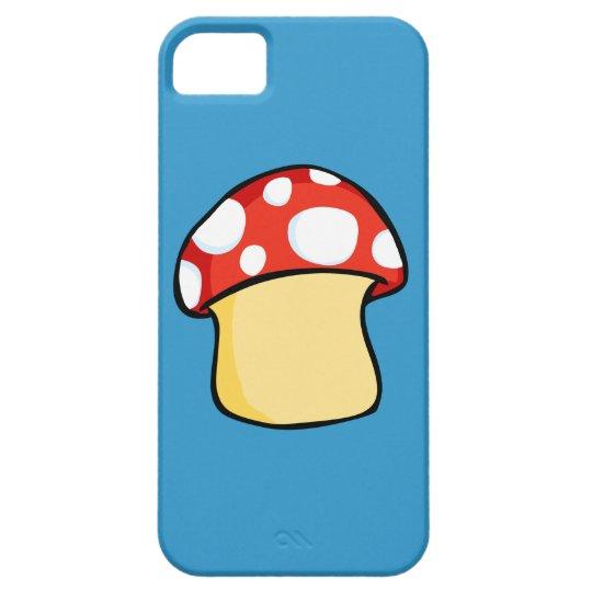 Red and White Polka Dot Mushroom iPhone SE/5/5s Case