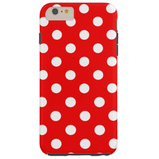 Red and White Polka Dots - iPhone 6/6s Plus Case
