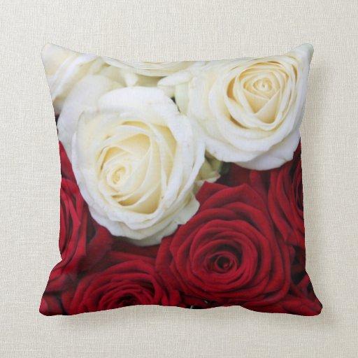 Floral Red Decorative Pillows WebNuggetz.com