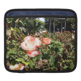Red And White Roses iPad Sleeves