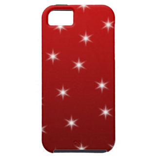 Red and White Stars Pattern iPhone 5 Covers