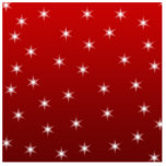 Red and White Stars Pattern. Cut Outs