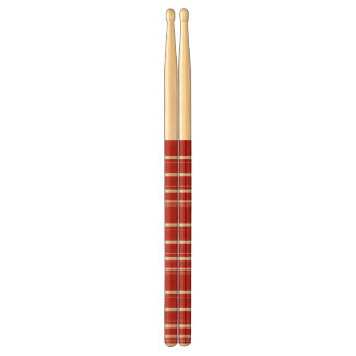 Red and White Striped Drumsticks