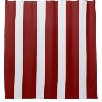 Red White Striped Shower Curtain Curtain Menzilperde Net