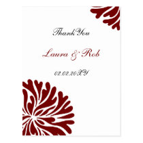 red and white ThankYou Cards