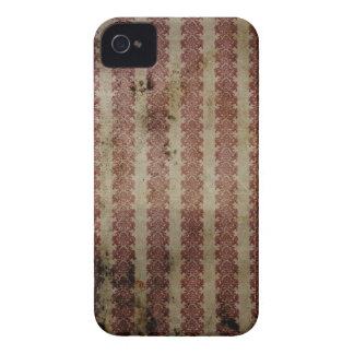 Red and White Vintage Print BlackBerry Bold Case